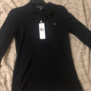 Tops - Long sleeve Ralph Lauren polo size large